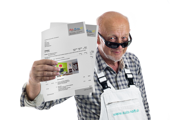 Mit der Maler-Software C.A.T.S.-WARICUM und dem Praxis-Leistungskatalog lassen sich Angebote im Handumdrehen erstellen.