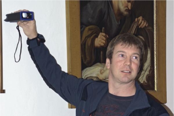 Südtiroler Malerbetrieb Urthaler erstellt sein Raumaufmaß mit CATSmobil.