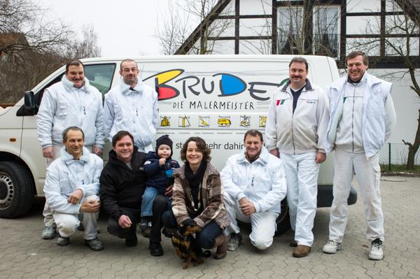 Malerbetrieb Bruder: Erfolgreiche Betriebsnachfolge durch Malermeister Andreas Gustedt.