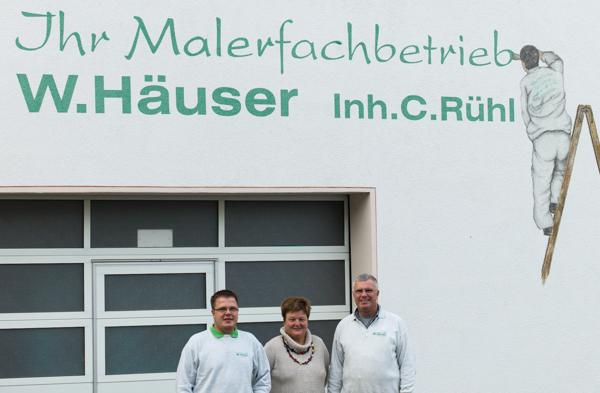 Malerfachbetrieb Häuser Rühl aus Fernwald setzt auf ein ausgefallenes Marketing