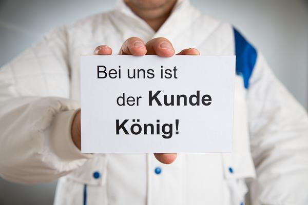 """""""König Kunde"""" - Kundengewinnung im Malerhandwerk"""