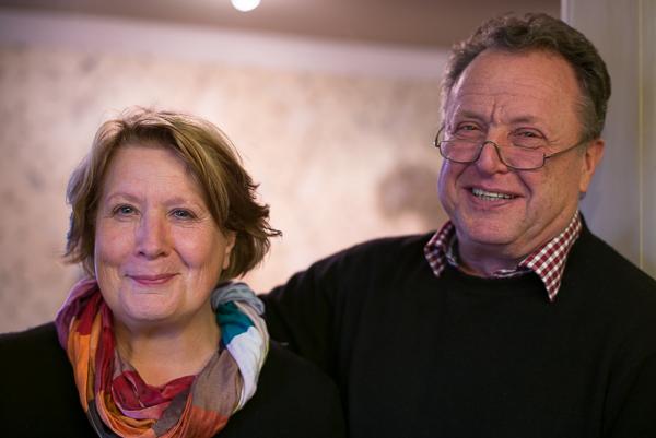 Einen Showroom der Extraklasse betreiben Malermeister Klaus Pitz und seine Frau Dagmar Pitz-Beisig.