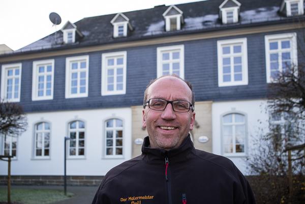Henrik-Jörg Dell durfte das Krombacher Brauhaus renovieren.
