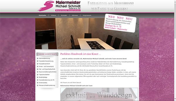Malerbetrieb Michael Schmidt GmbH & Co KG, Lebach - Thalexweiler