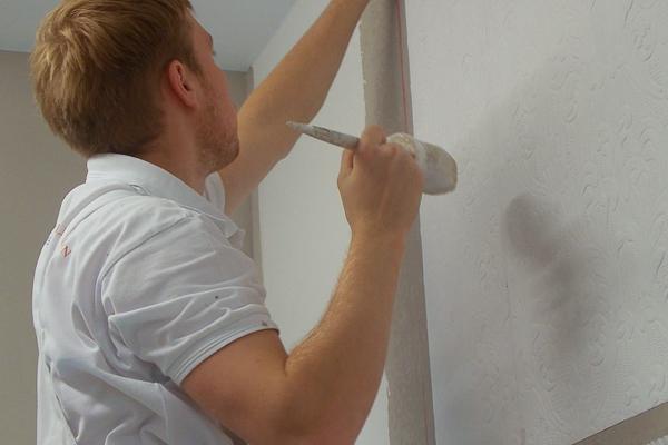 Maler-Nationalteam: Markus Müller aus Oberlungwitz freut sich auf die Herausforderung.