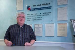 Michael Pörling, Geschäftsführer der Hand-In-Handwerker Ulmen