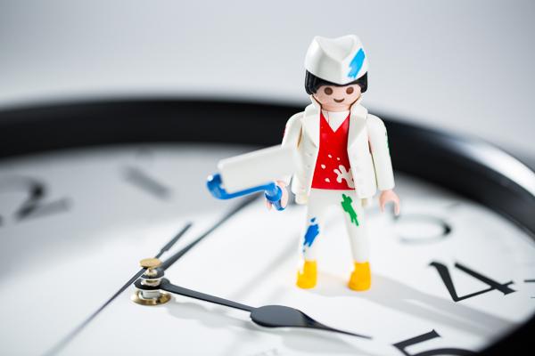 Arbeitszeitkonten im Malerhandwerk: Zeiterfassungslösung CATSbauzeit jetzt mit integrierter Arbeitszeitkontenverwaltung!
