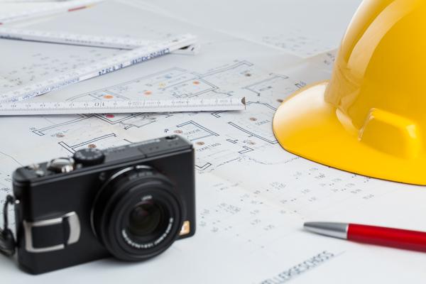 Mit Bildaufmass, dem Fotoaufmass aus digitalen Fotos, lassen sich Baupläne schnell und sicher vermessen.