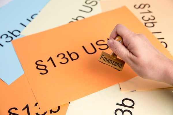 Steuerschuldnerschaft bei Bauleistungen (§13b UStG): Neue Bescheinigung nach Vordruckmuster USt 1 TG - ausgestellt durch das Finanzamt - bringt Rechtssicherheit!
