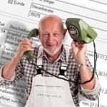 Maler und Stuckateure aufgepaßt: Telefon-Entlastung fürs Büro mit dem Telefon-Assistenten der betriebswirtschaftlichen Maler-Software C.A.T.S.-WARICUM.