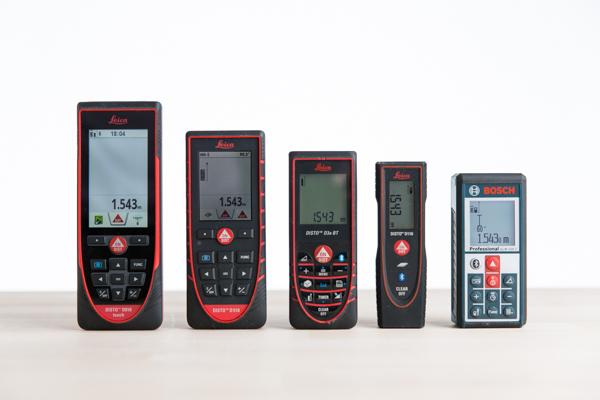 Marktübersicht Bluetooth-Lasermeßgeräte