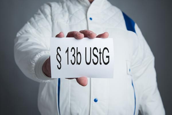 Steuerschuldumkehr bei Bauleistungen - §13b UStG - Verfahrensanweisungen - neuer Vordruck USt 1 TG