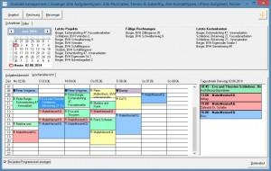 Moderne Maler-Software hat  einen Terminkalender voll integriert und über eine App ist auch die mobile Kalenderführung gewährleistet.