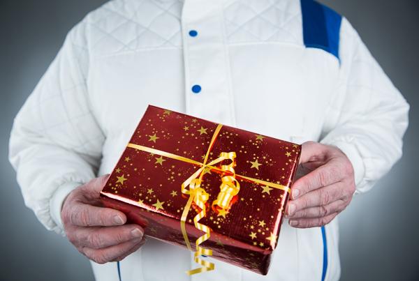 Malerbetriebe aufgepaßt: Vier Tips für das perfekte Geschenk für Kunden zu Weihnachten.