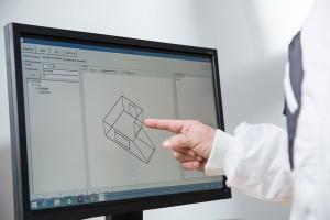Optimale Chefentlastung durch professionelle Mitarbeiterbesprechung mit Unterstützung des 3D-Raumplans der mobilen Aufmaßsoftware CATSmobil.