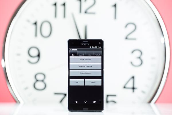 Mindestlohngesetz fordert exakte Zeiterfassung: CATSbauzeit ist die mobile Lösung zur Erfassung der Arbeitszeit auf der Baustelle und im Büro.