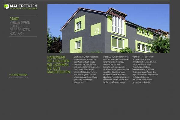 Top-Website: Malertekten GbR, Esslingen