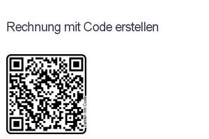 Rechnungen mit dem GiroCode, einem QR-Code, erstellen.