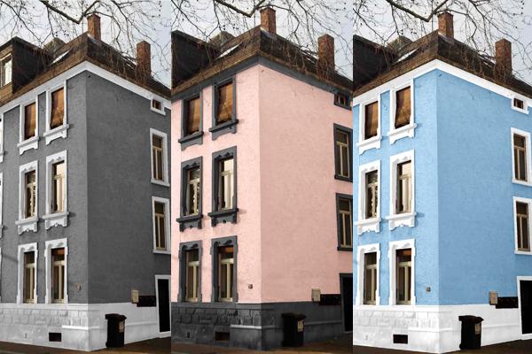 Farbvorschläge, erstellt mit paintersBOX, der einfachen Art der Farbgestaltung