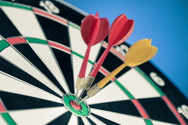 Unternehmenserfolg planen: Nur wer das Ziel kennt, kann es treffen.