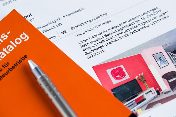 Erfolgreiche Angebote mit der Maler-Software von C.A.T.S.-Soft und dem Praxis-Leistungskatalog für Maler und Stuckateure