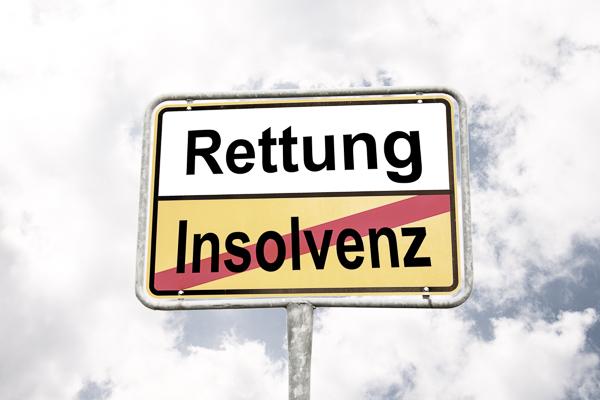 Firmenrettung und Sanierung und Insolvenz