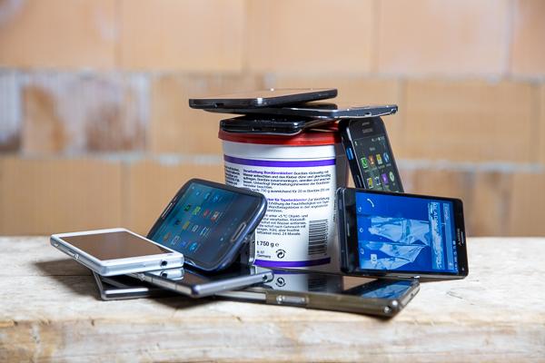 Marktübersicht: Smartphones für Handwerker und Baustelle