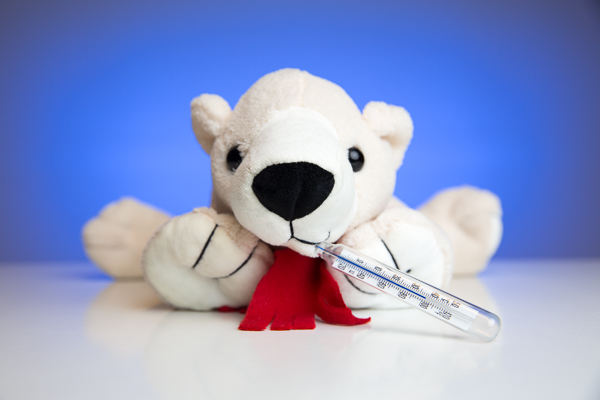 Schnupfensaison: Bei Schnupfen Dr. Eisbär fragen