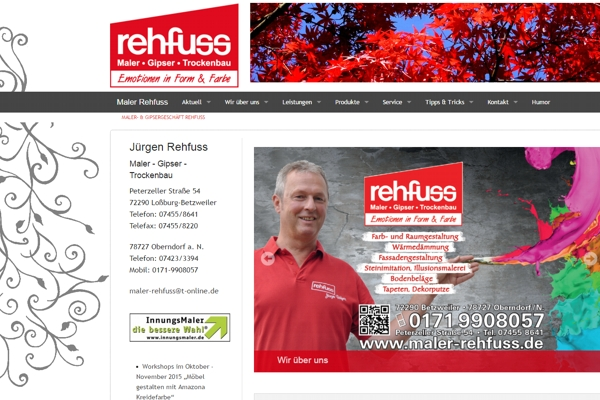 WebsiteRehfuss