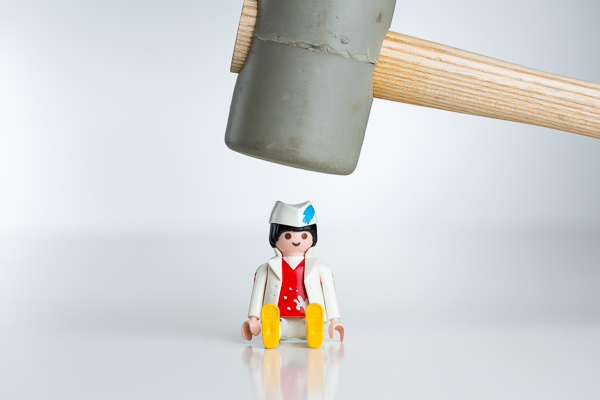 Mitarbeiter kritisieren will gelernt sein - der Gummihammer hilft nicht