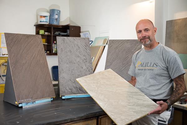 Malermeister Robert Paulus stellt seine neue Technik bei Malerblog.net vor.