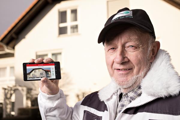 Mobile App von BILDaufmaß sorgt für schnelles Aufmaß aus Fotos