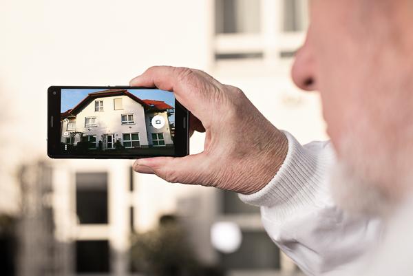 Fassadenaufmaß aus Fotos mit BILDaufmaß