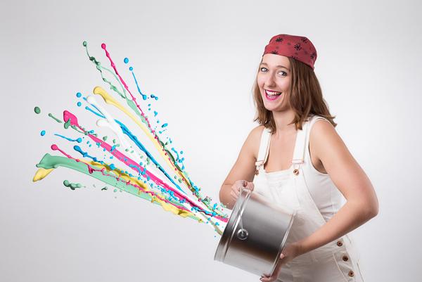 Mit paintersBOX erstellte Farbentwürfe  dienen zur Kundenberatung und als Orientierungshilfe für Mitarbeiter