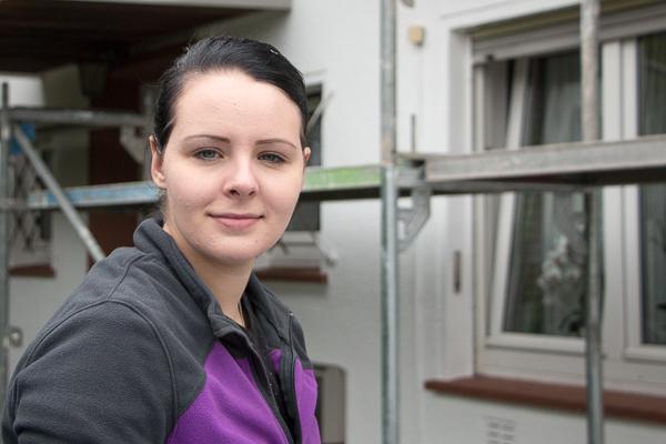 Debora Nießen – die jüngste Malermeisterin Hessens
