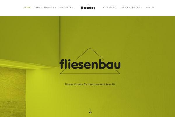Top-Website: Ein maßgeschneiderter Online-Auftritt der Fliesenbau GmbH lässt Bilder sprechen