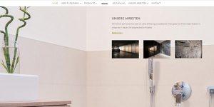Top-Website: Ein maßgeschneiderter Online-Auftritt der Fliesenbau GmbH