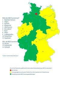 HBCD-Landkarte des BDE, Stand 20.10.2016, Quelle: www.bde.de