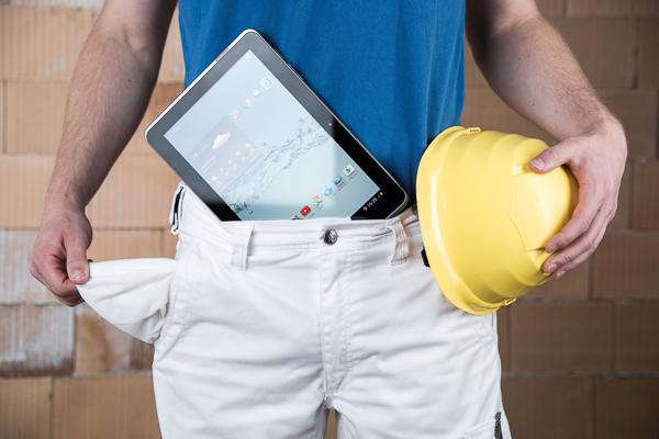 Tablet-Computer im Büro und auf der Baustelle. Macht das Sinn?