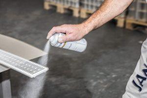 Sprühen statt streichen – Sprays erleichtern die Arbeit