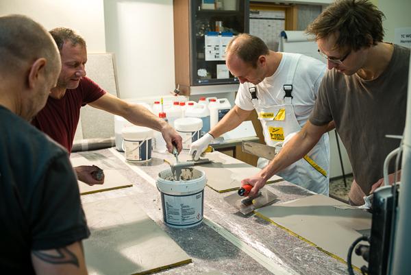 Top Ciment Workshop bei Robert Paulus
