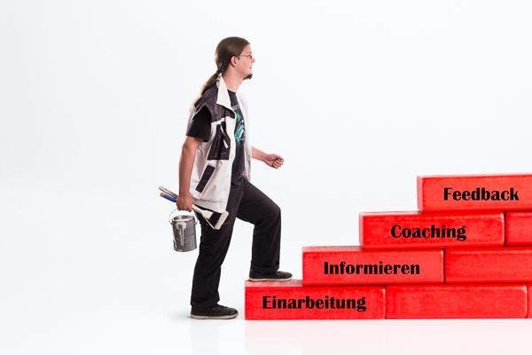 Integration neuer Mitarbeiter im Maler- und Stuckateurbetrieb