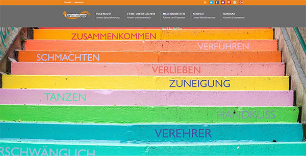 TOP-Website von Maler Trynoga