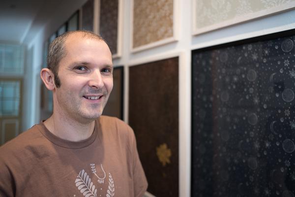Tobias Ott präsentiert Strukturwalzendesign