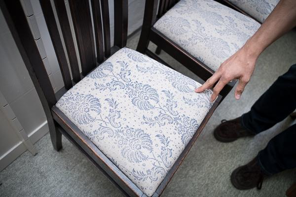 Strukturwalzen - Technik auf Möbeln