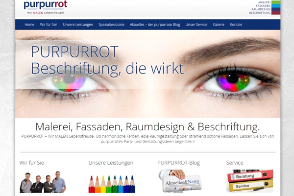 Top-Website: Purpurrot aus Kärnten