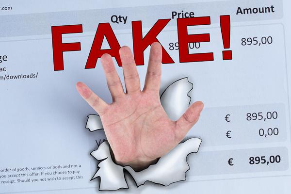 Fake-Rechnung: Vorsicht bei Rechnungen, die keine sind