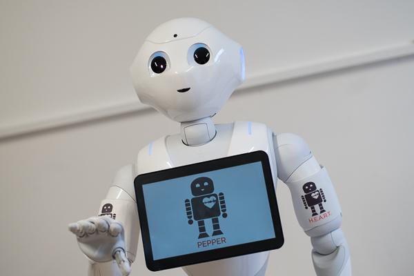 Pepper, der humanoide Roboter