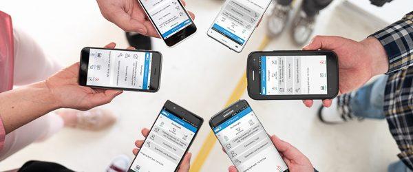 Apple, Samsung, Huawei, Sony & mehr – Zeiterfassung wie's der Mitarbeiter mag