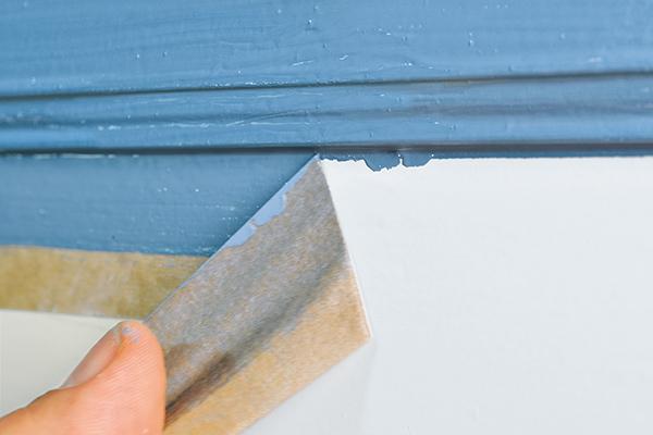 Farbunterläufe sind unschön und müssen nachgearbeitet werden.